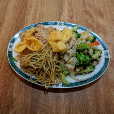 Broccoli Chicken Lunch Special