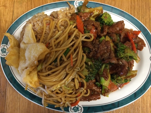 Lunch Special Beef Broccoli