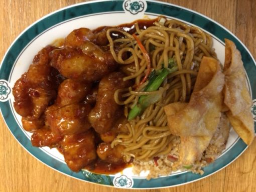 Lunch Special General Tso Chicken