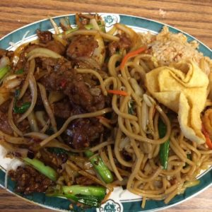 Lunch Special mongolian beef